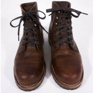 WOLVERINE 1000 Mile Boot 8 D Brown Horween Leather
